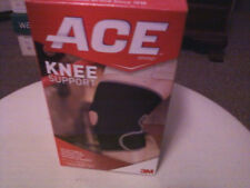 Brand New ACE Knee Support Adjustable/Black/Latex Free/Odor & Bacteria Resistant
