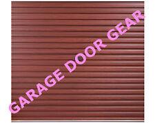 GLIDEROL Roller Garage Door - 7ft   ROSEWOOD LAMINATE