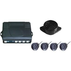 New 4 PCS Parking Sensors Car Reverse Backup Radar System Kit Sound Alert Alarm