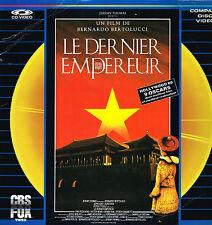 Laser Disc Video: Bernardo Bertolucci: le dernier empereur. cbs fox 2 disques