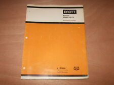 DROTT CASE POCLAIN MODEL 220 CK PARTS MANUAL FACTORY OEM P1344071