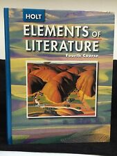 Hardback Elements of Literature Fourth Course Book by HOLT RINEHART WINSTON