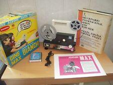 Proyector de Cine 8mm y Super8 CINEMAX de Bianchi Revisado,Funcionando+ Regalo.