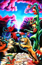 Blacklight Posters Surreal Trippy UV glowing art THE WRATH by Vincent Monaco