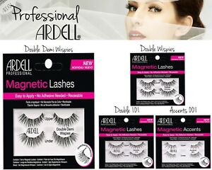 Ardell Magnetic Natural Accent 001 Double 110 Demi Wispies False Eyelashes Black