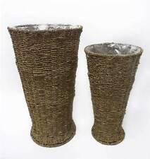 Seagrass Round Decorative Baskets