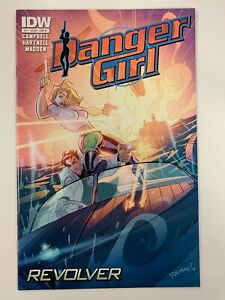 IDW DANGER GIRL : REVOLVER #1 B COVER : NM CONDITION