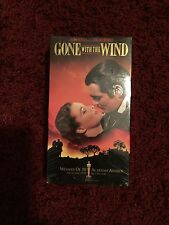 Gone with the Wind - VHS Video, Clark Gable. New Sealed in MGM stamped plastic.
