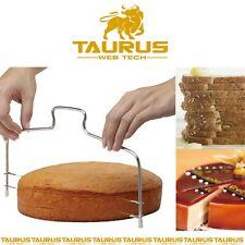 UK CAKE Slicer Bread Cutter Wire Line Cutting Kitchen Decor Baking Tool Leveller