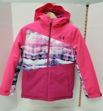 Under Armour Youth Girls Winter Jacket Water Repellent Breathable size:M