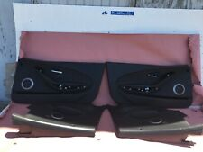 2009 BMW E64 E63 M6 OEM 97K LEATHER DOOR PANELS FRONT REAR PANEL SET ///M POWER