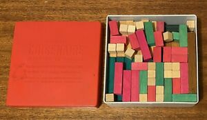 Cuisenaire Numbers in Colour 1970s