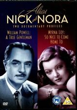 Alias Nick And Nora Dvd William Powell Brand New & Factory Sealed