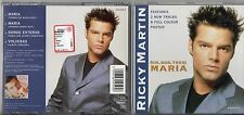 RICKY MARTIN CD single 4 tracce  MARIA made in AUSTRIA  include mini poster