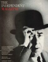 The Independent Magazine July 8 1989 Euan Uglow Michael Cooper Rene Magritte