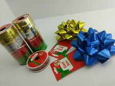 Curling Ribbon (2) 80ft /Tube 20ft/Color Bows Christmas Crafts Wrapping (5E2)
