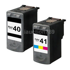 2x Compatible Ink Cartridge PG40 CL 41 for Canon Pixma IP1200 IP1300 iP1800