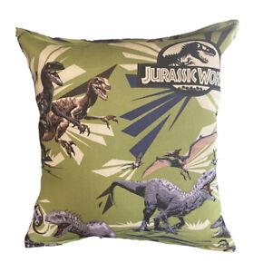 Jurassic Park Pillow Dinosaur World Our Pillows Are Handmade Hypoallergenic Cott