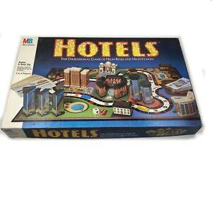 Hotels Milton Bradley Board Game Rare.