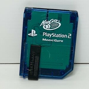 MadCatz Playstation 2 PS2 Memory Card 8MB Magic Gate - Tested & Working!