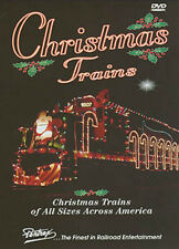 Christmas Trains DVD Pentrex tree holiday winter kids toy layouts garden NEW