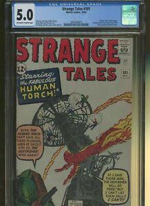 Strange Tales #101 CGC 5.0