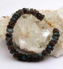 Labradorita Pulsera banda de brazo de piedra preciosa Tallado en facetas