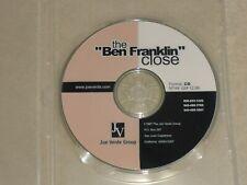 Joe Verde - The Ben Franklin Close Auto Sales Training CD