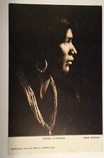 Navaho Indian Pedro Native American Indian Fred Harvey Postcard Karl Moon