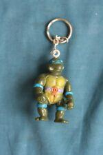 TMNT teenage mutant ninja turtle action figure Key Chain Toy bootleg 1990's  #4