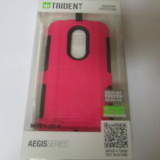 Trident Aegis Case Motorola Moto X(2014) Military Tested- Pink+ Screen included!