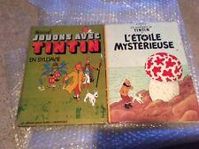 Lot Tintin jouons avec Tintin en Syldavie et l étoile mystérieuse