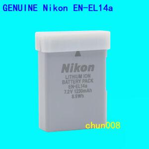 Genuine Nikon EN-EL14a Battery For D5600 D5300 D5200 D3200 D3500 P7800 P7700 Df