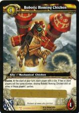 WoW World of Warcraft TCG Loot Card Robotic Homing Chicken Rocket Chicken PET