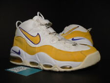 2003 Nike Air Max TEMPO UPTEMPO DEREK FISHER LA LAKERS DEL SOL WHITE PURPLE 10.5