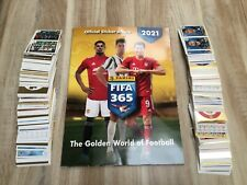 PANINI FIFA 365 2020-2021 ALBUM + LES 449 STICKERS    COMPLET