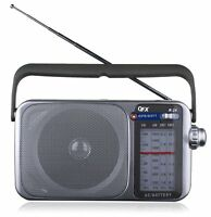 BRAND NEW QFX R-24 Portable AM/FM/SW1-SW2 Radio