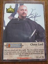 SPELLFIRE Caos Lord-Dun 22/25 Dungeons CHASE CARD-ULTRA RARE-TSR CCG TCG