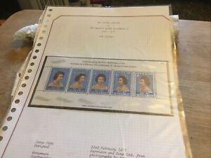 New Zealand Unmounted Mint Stamp Miniature Sheet