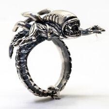 Alien Ring .925 silver Venom Premotheus Xenomorph Predator Biker feeanddave