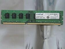 Memory RAM CRUCIAL 4GB ddr3 -1333 PC3-10600)