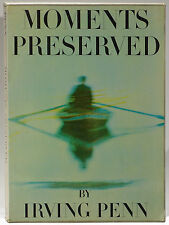 Irving Penn first book Moments Preserved 1960 1st edition slipcase/jacket