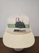 Vintage Gaff Lawn Equipment, Inc. SnapBack Trucker Hat Cap Deutz-Allis Mower