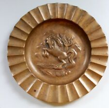 RARE YSTAD METALL Bronze Catchall - Signed - 1930's - SWEDEN