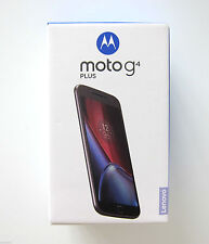 Moto G Plus 4th Gen|Black|32 GB|Upgradable to Android 7.0 Nougat|Unboxed|vOLTE
