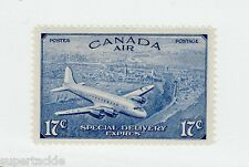 1946 Canada CE3 ** MNH  VF 17 cent Special Delivery stamp, CF airplane