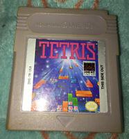 Tetris Nintendo Game Boy Cartridge Video Game Only
