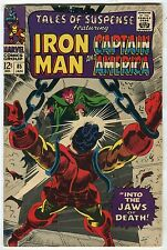 "Tales of Suspense #85 ""Iron Man & Captain America Into The Jaws of Death""(6.5)WH"