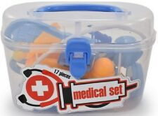 Doctor Dr Set Kids Medical Case Playset Toy Carry Case 17 Pieces