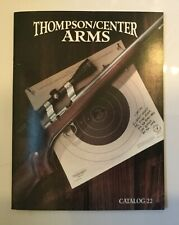 1994 Thompson / Center Arms Catalog 22, Full Color many Models